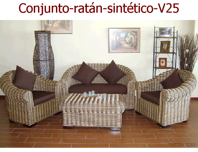Best muebles de jardin ofertas ideas amazing house for Conjunto rattan sintetico barato